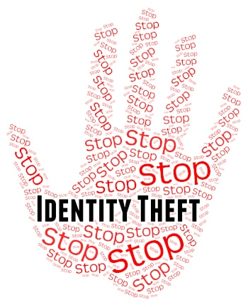 Stop Identity Theft Meaning Hold Up And Prevent